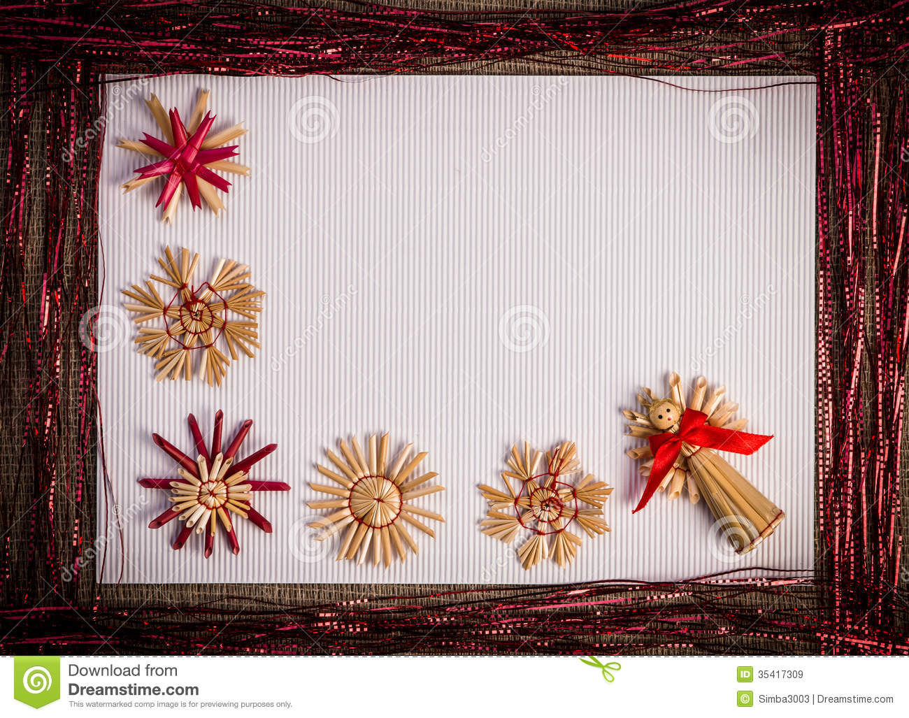 Christmas Card Stock Paper