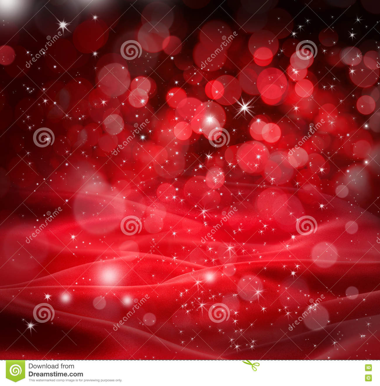 Background christmas red stars