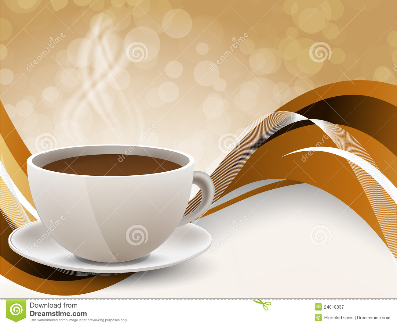 Background With Coffee Cup Royalty Free Stock Photography Image 24018837