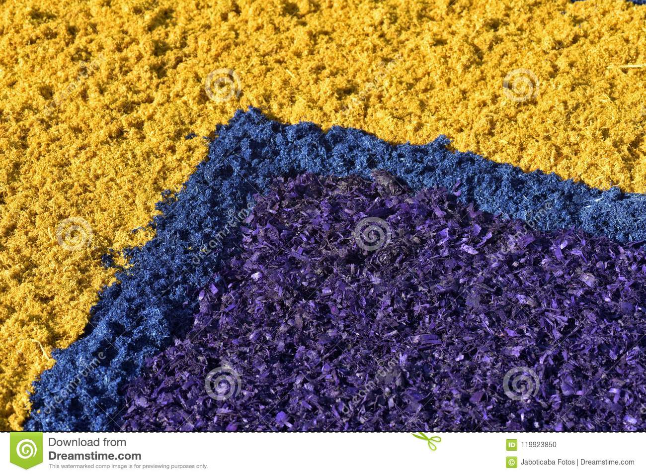 Background Of Colored Wood Shavings Stock Photo - Image of