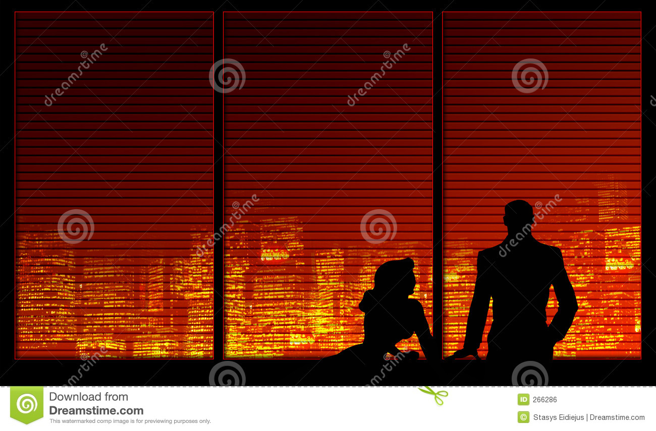 Background couple series window