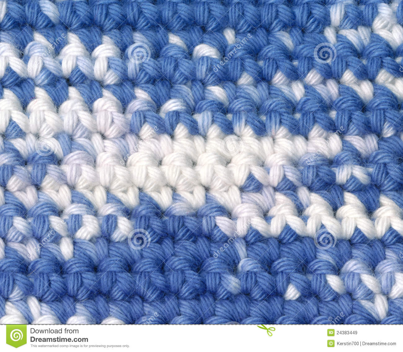 Background Crochet Variegated Yarn Stock Image Image Of Yarn