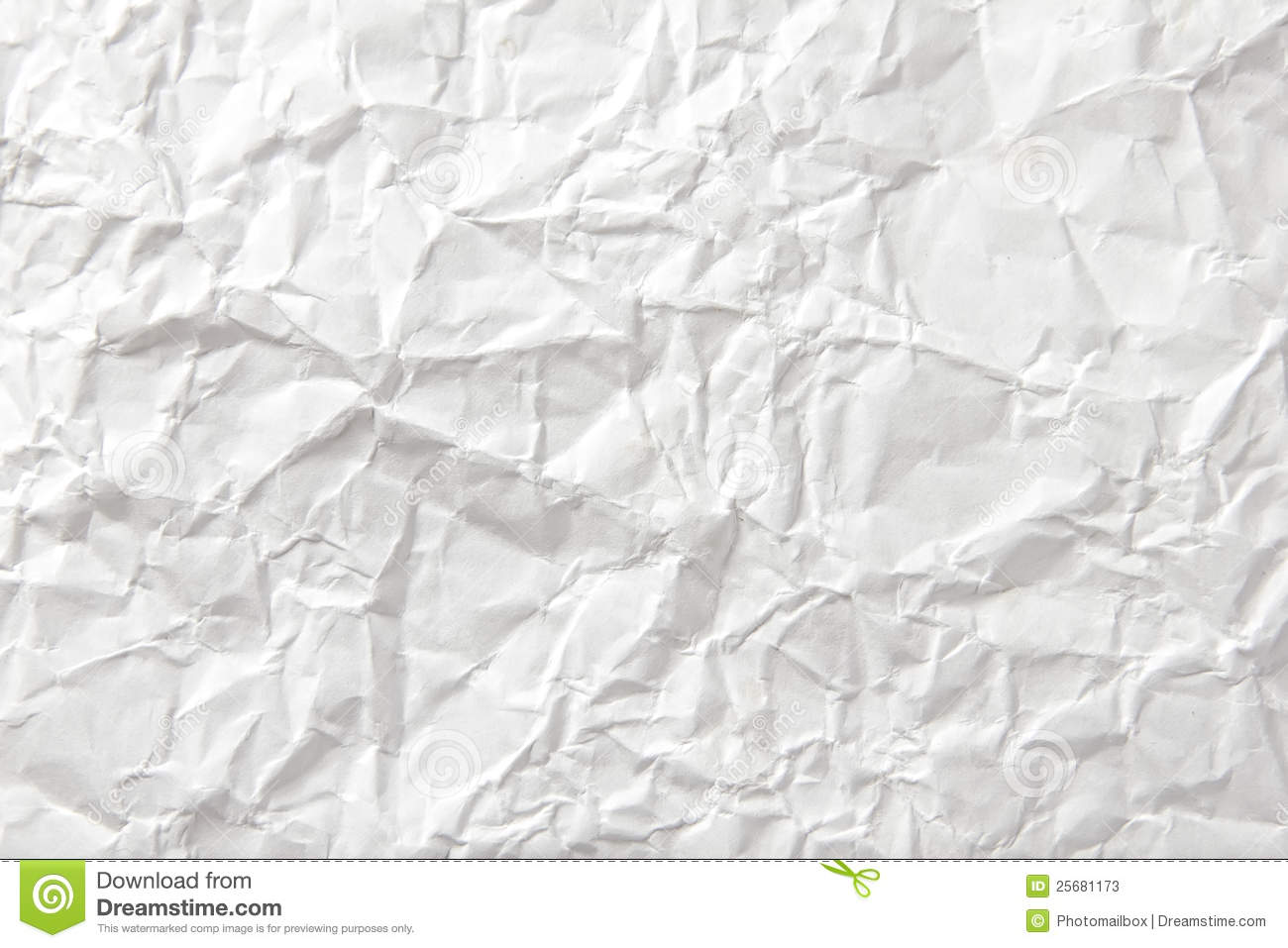Background Of Crumpled Paper Stock Image - Image of board ...