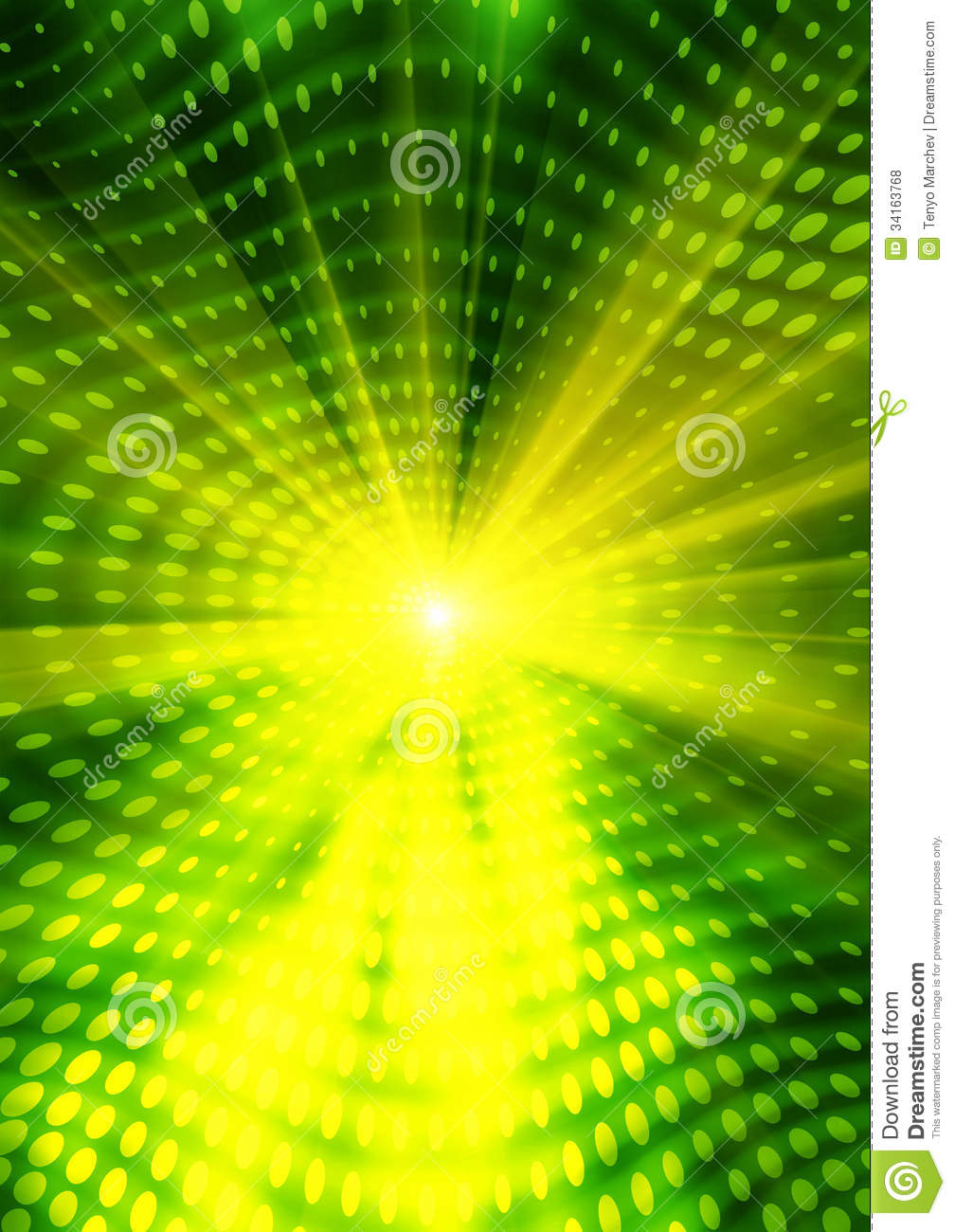 Background design Yellow And Green Background Design