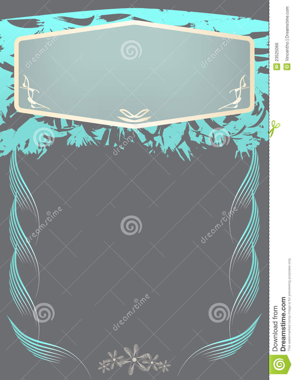 special invitation card design royalty free stock image