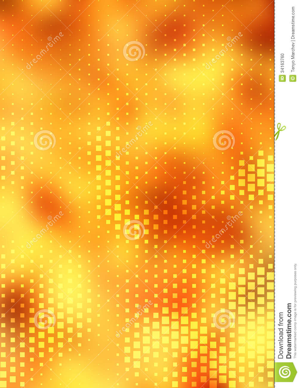 Background Design Stock Photo - Image: 34163760: www.dreamstime.com/stock-photo-background-design-orange-halftone...
