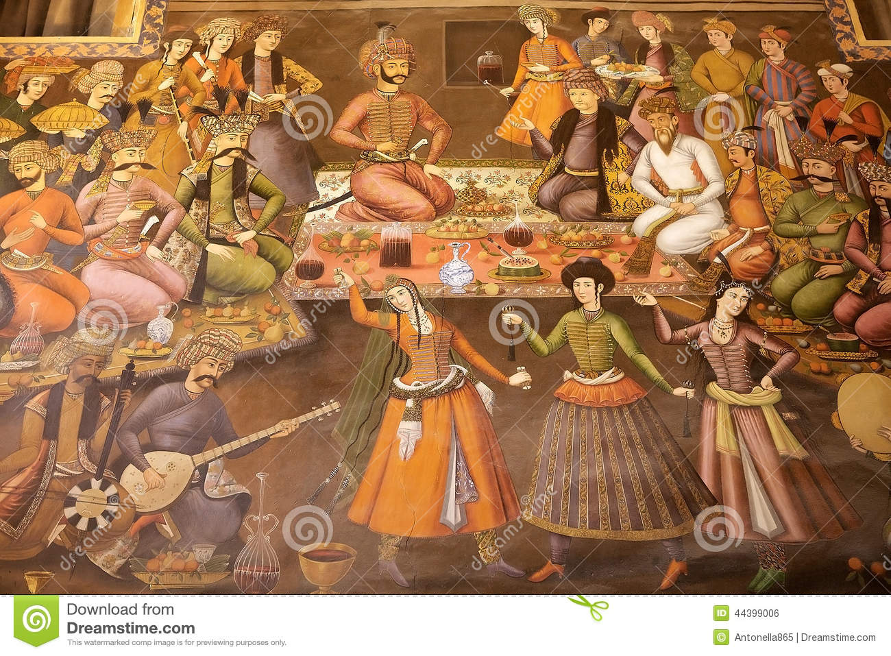 Ancient Persian Cuisine Of Background Stock Photo Image 44399006