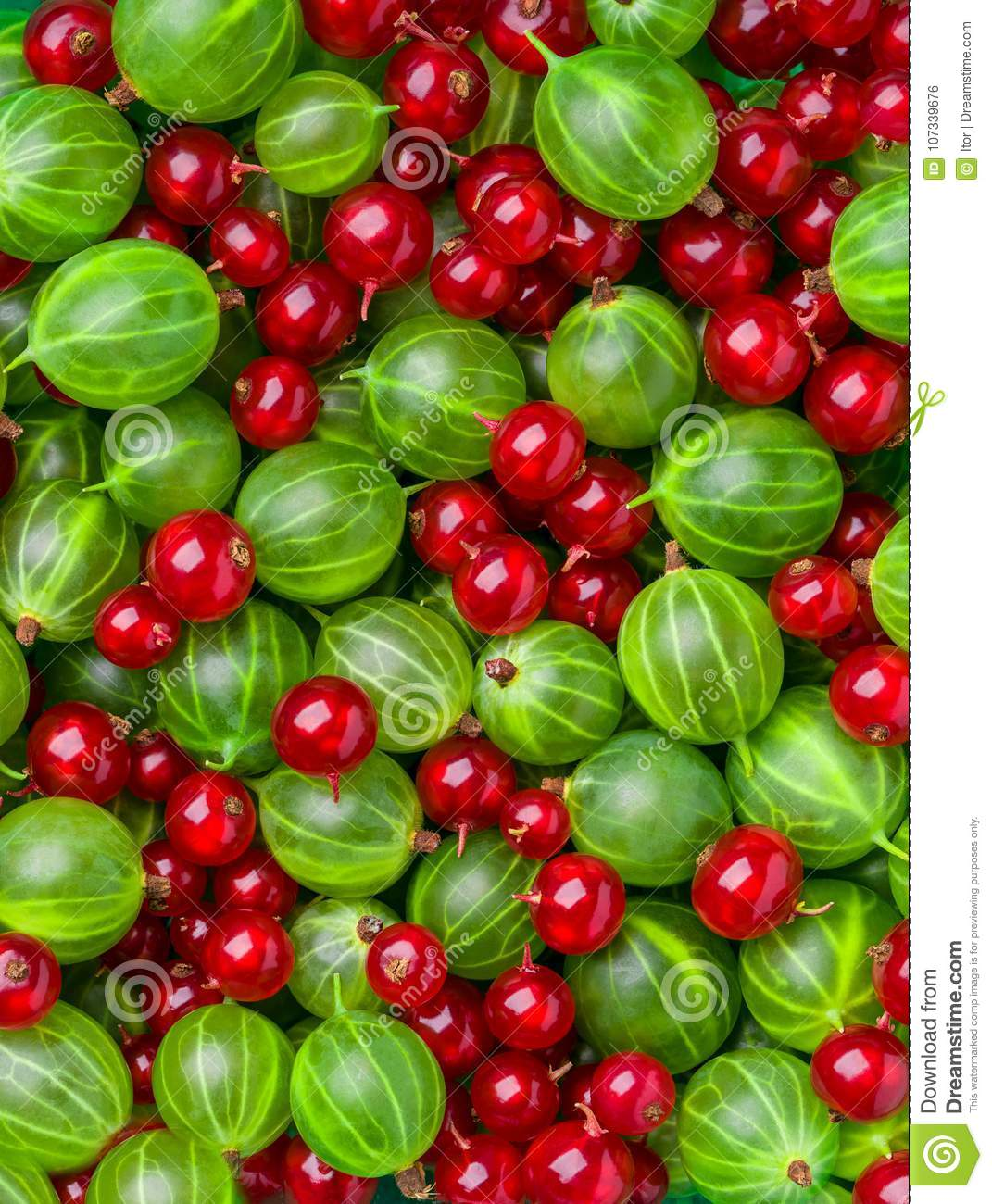 Background of different berries and fruits.