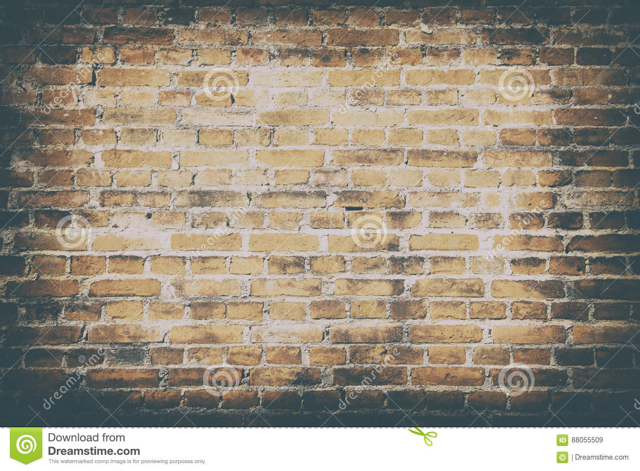 Background of dirty old wall brick texture wallpaper