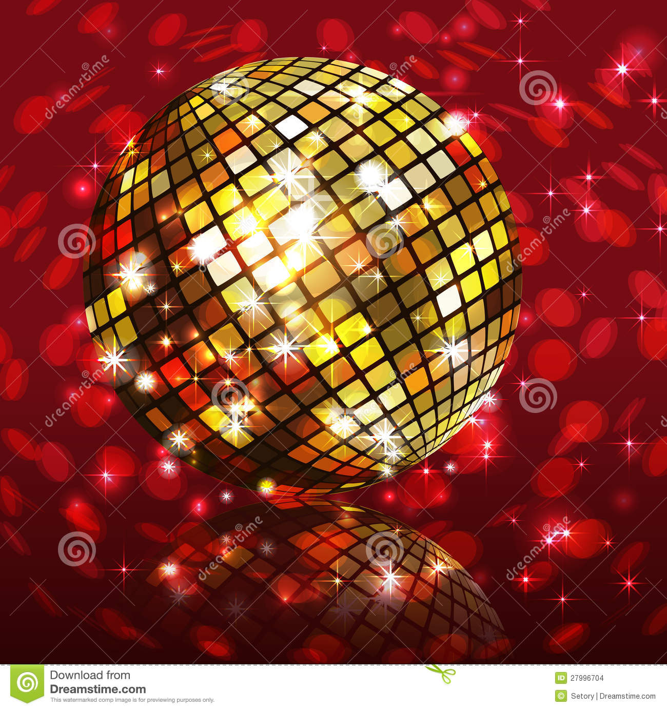Background Disco Party Stock Vector Image Of