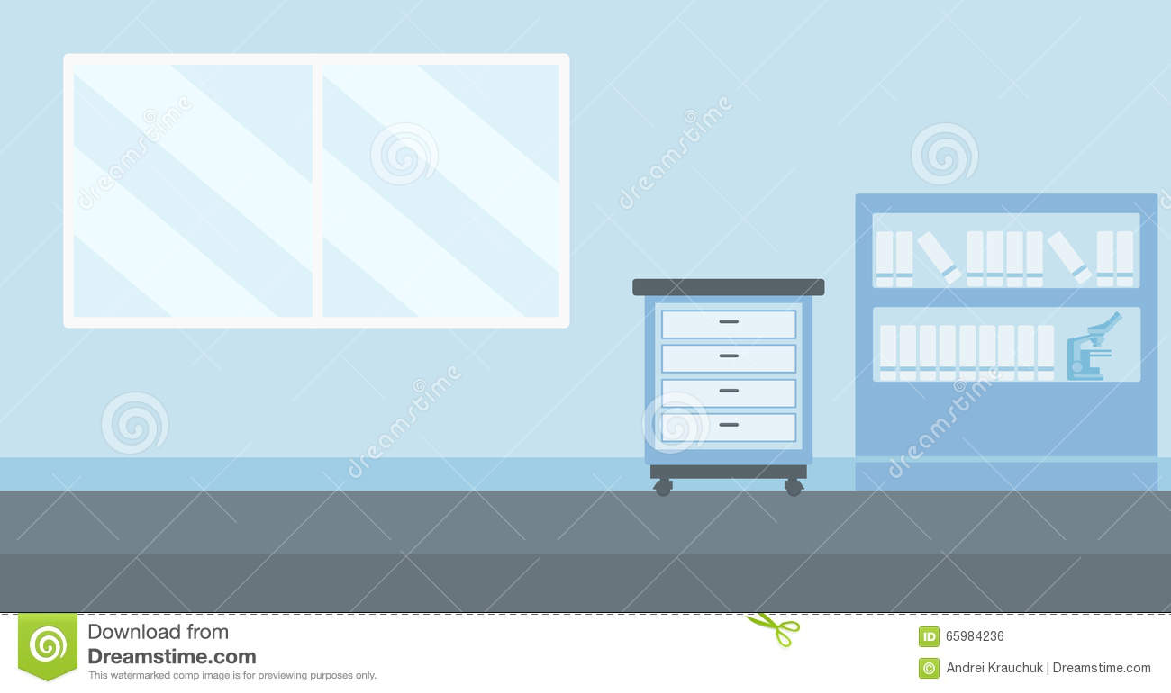 Background Of Doctor Office Stock Vector Illustration Of