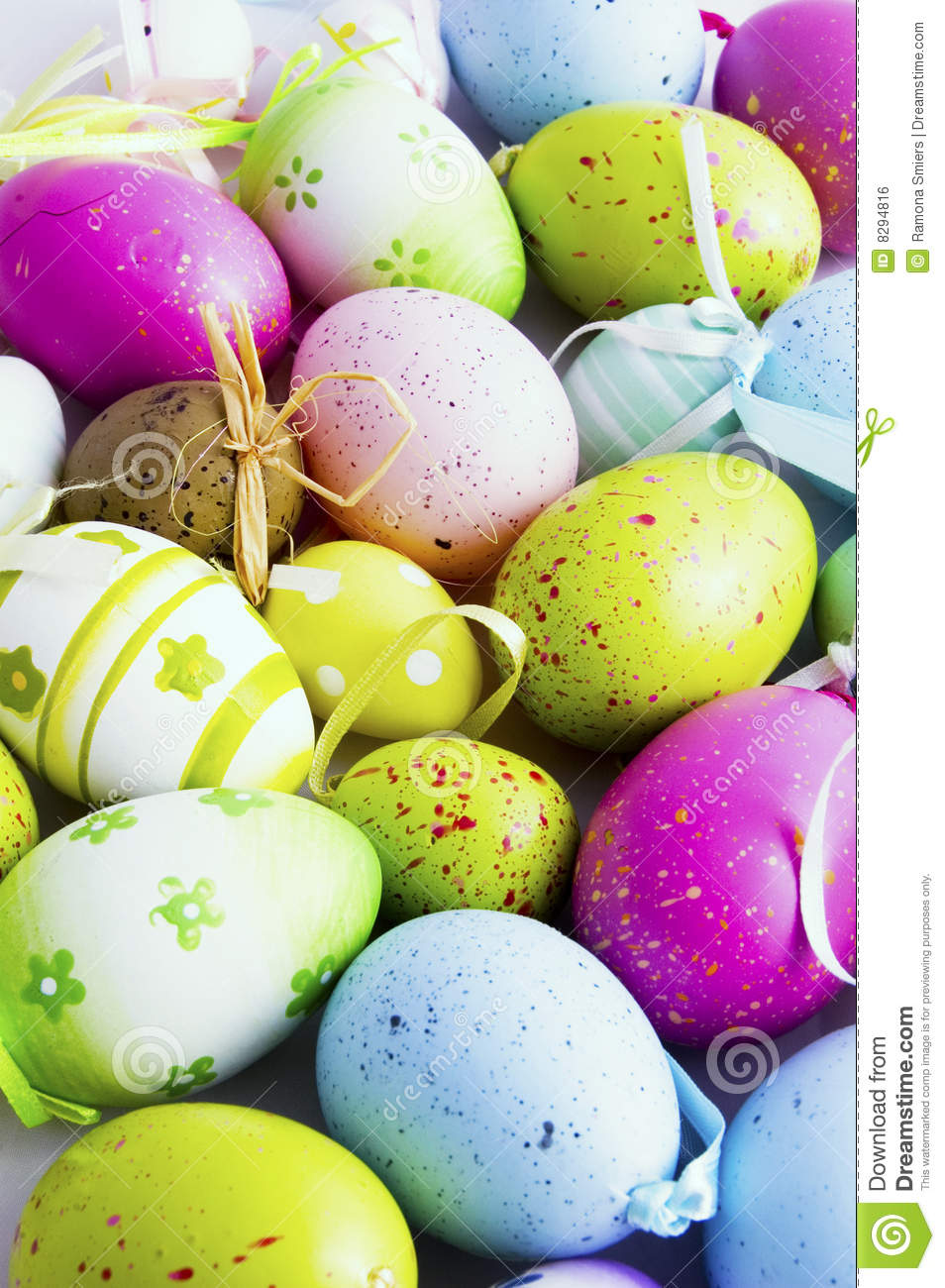 Background of eastern eggs