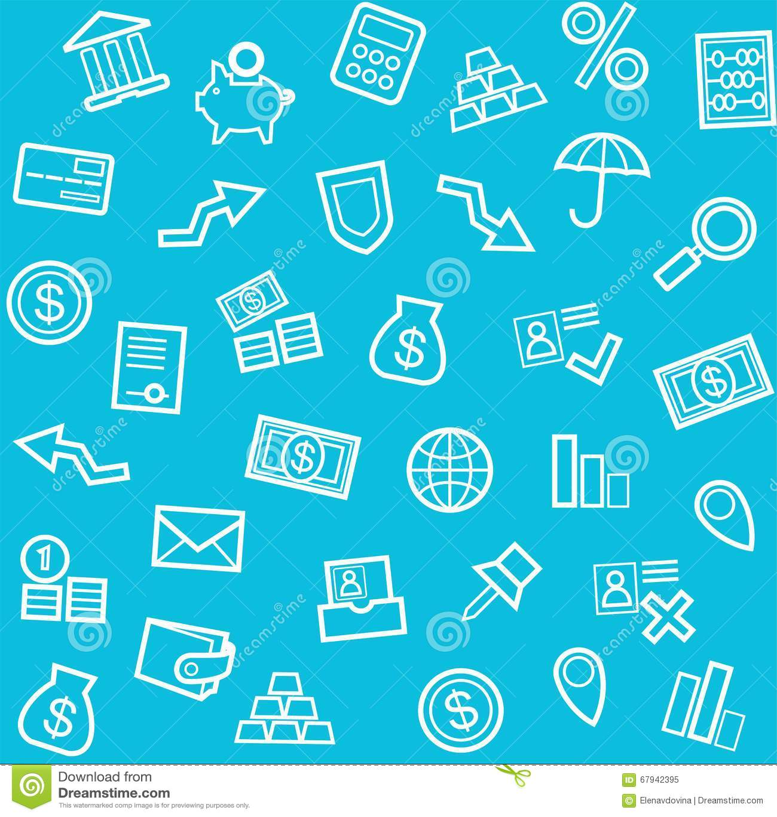 Background, Finance, Money, Economics, Seamless, Blue ...