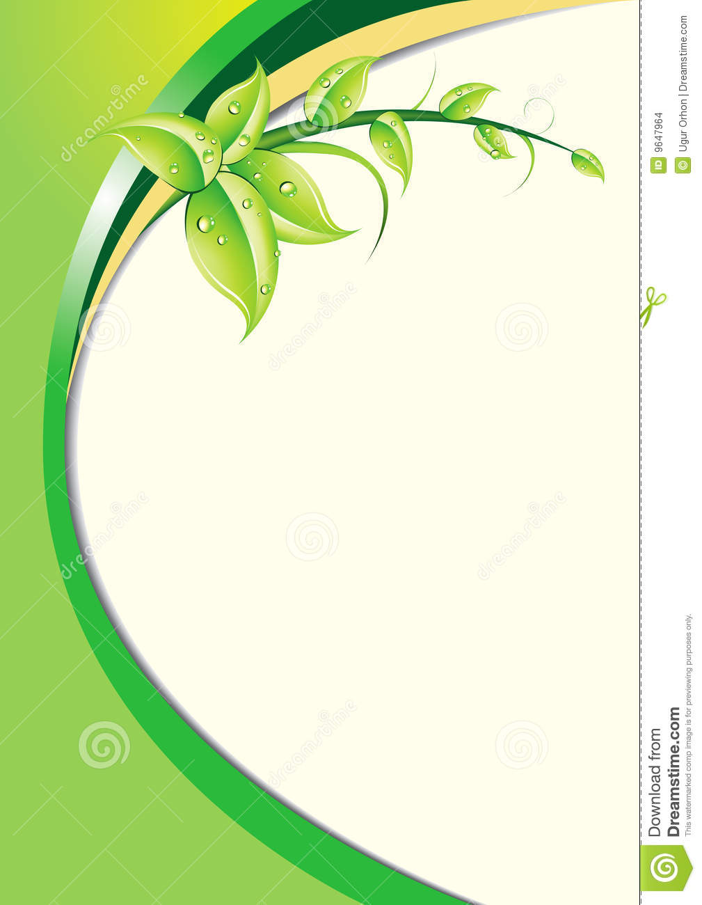 Background Floral -EPS Vector- Stock Images - Image: 9647964