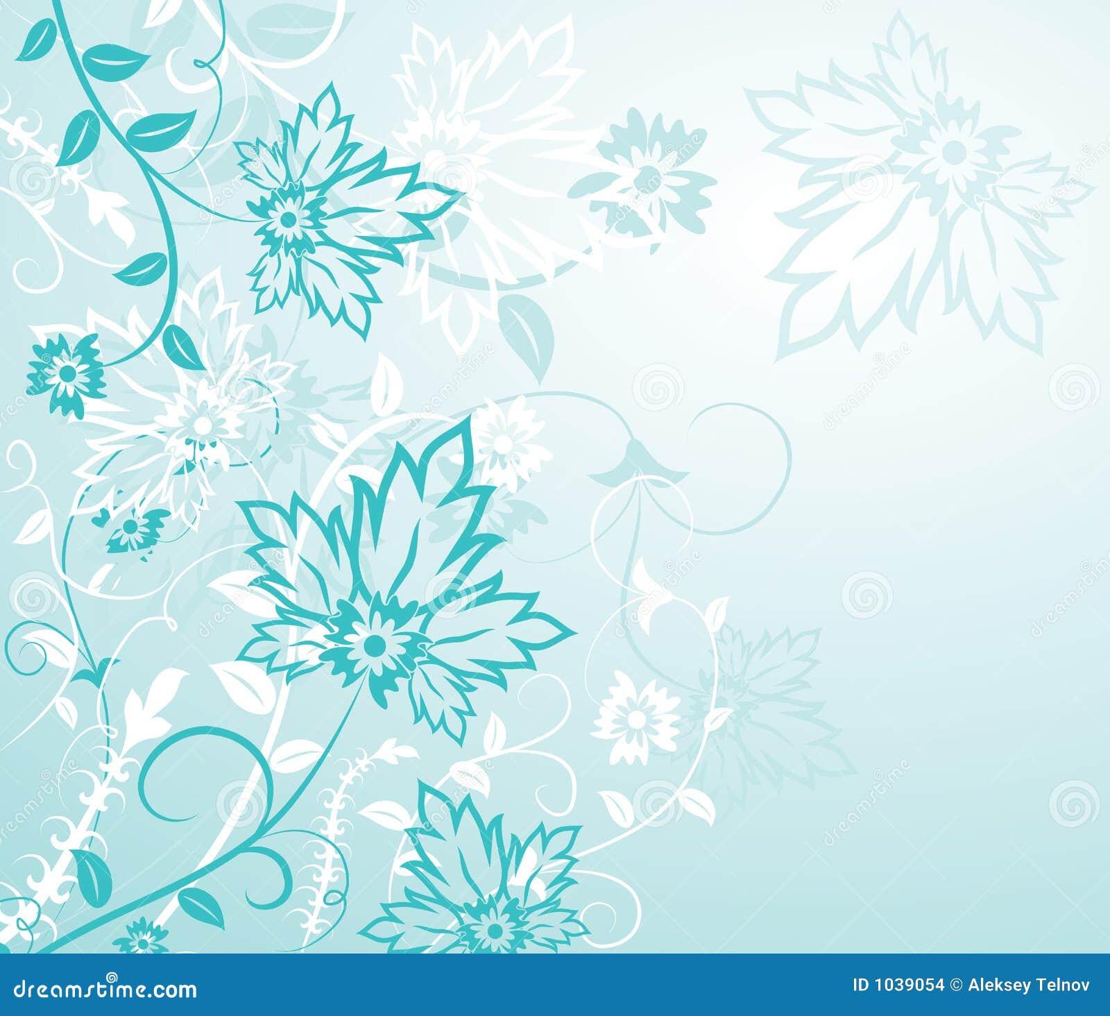 Background Flower Elements For Design Vector Stock