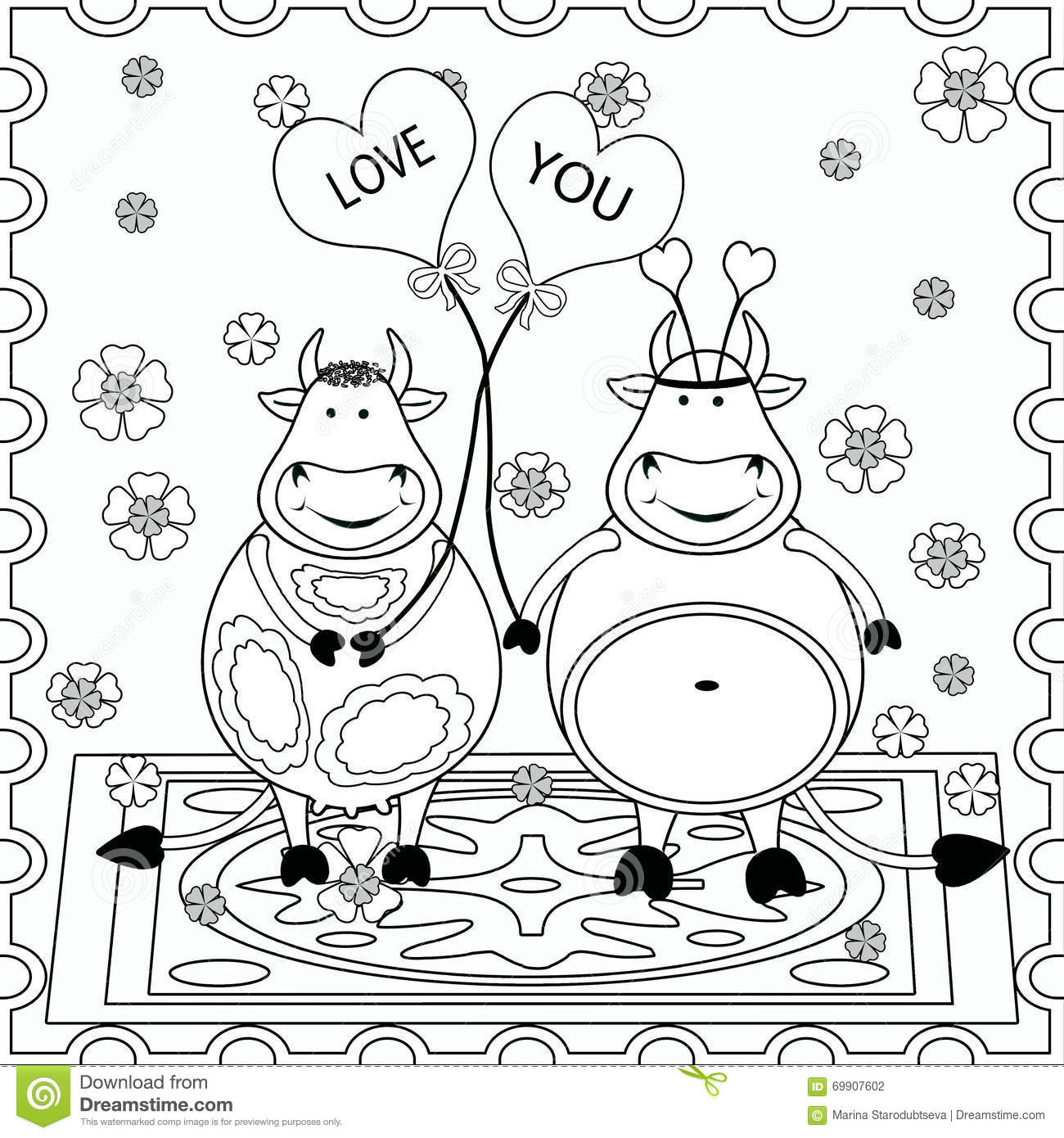 Background with funny animals pattern fills coloring for Background coloring pages