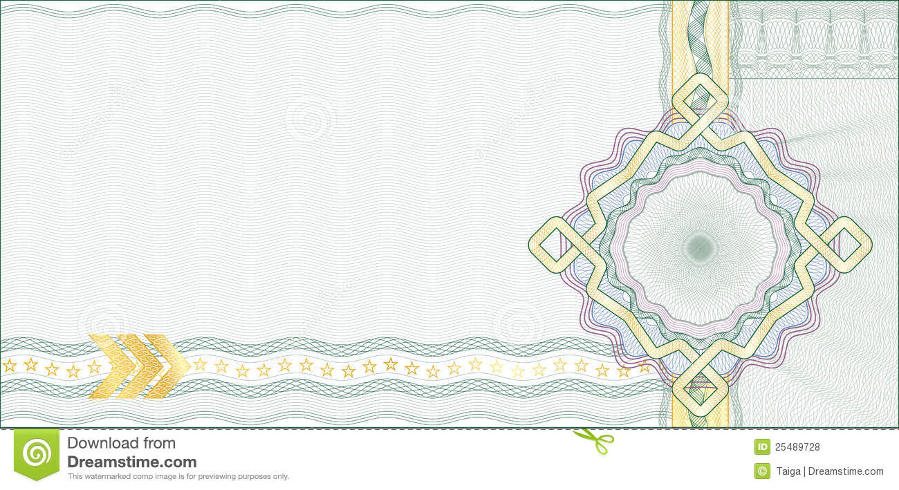 background for gift certificate  voucher royalty free