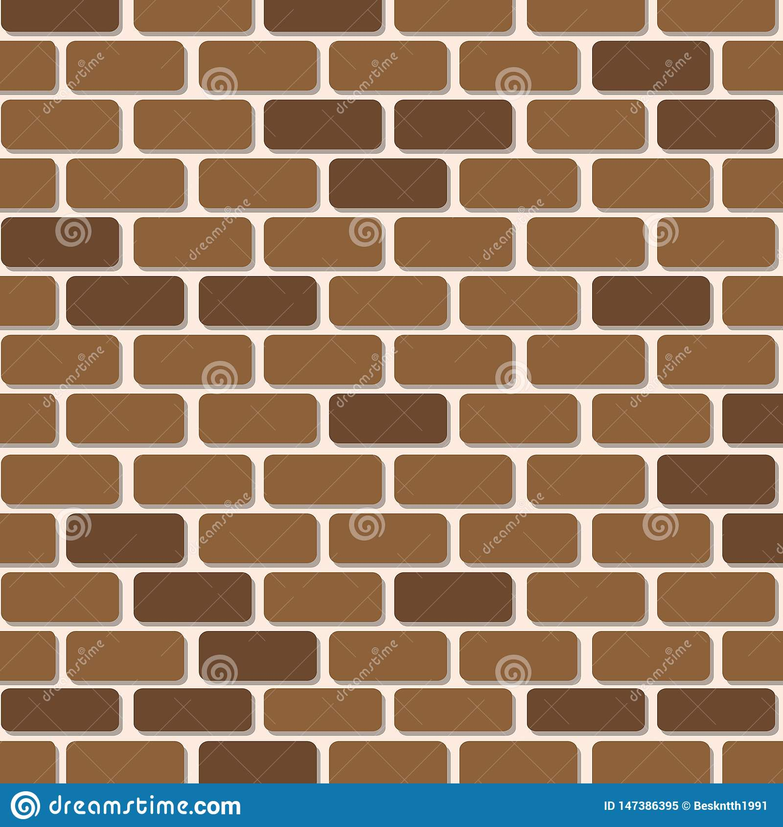 Brick wall paper artwork for background.