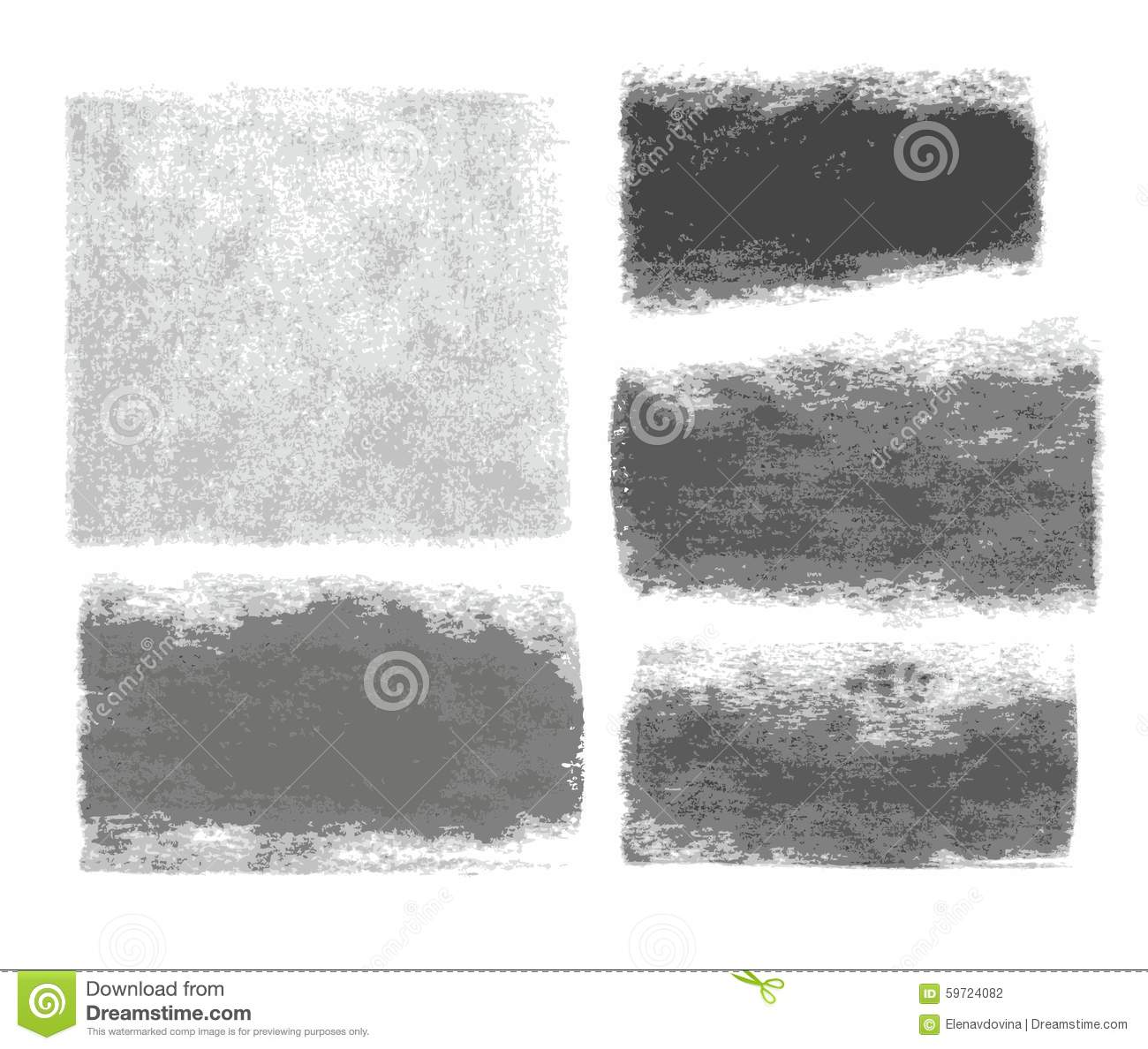 background graphite pencil charcoal texture frame