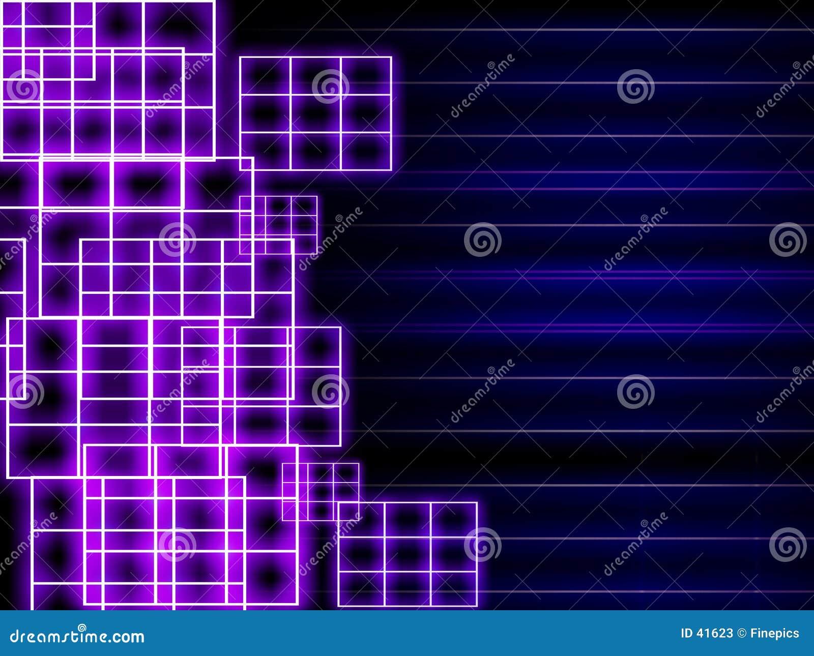 Background grid neon