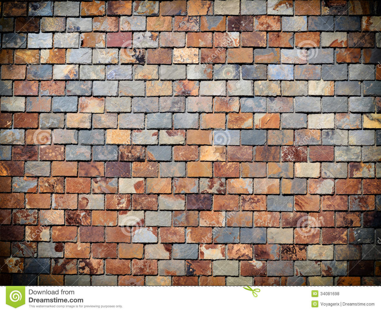 Background Of Grunge Brick Wall Texture Royalty Free Stock Photos