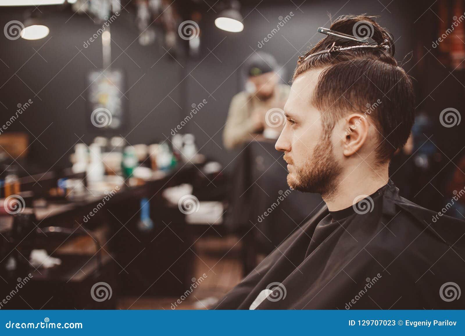 Background Of Hair Salon For Men, Barber Shop Stock Image - Image of owner, clean: 129707023
