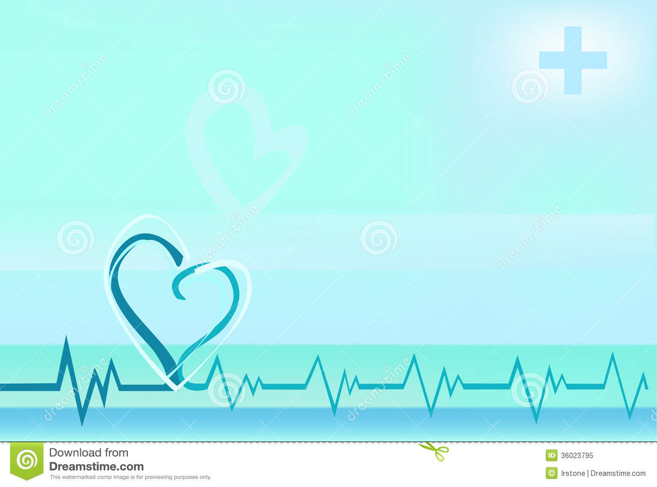 With heart beating line royalty free stock photo image 36023795