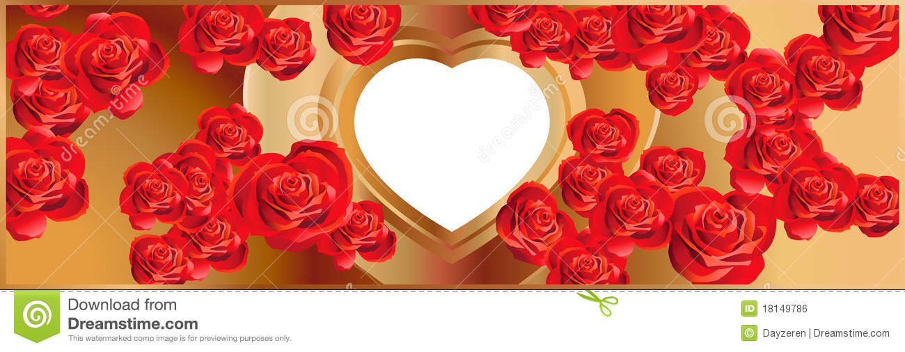 heart and roses background - photo #39