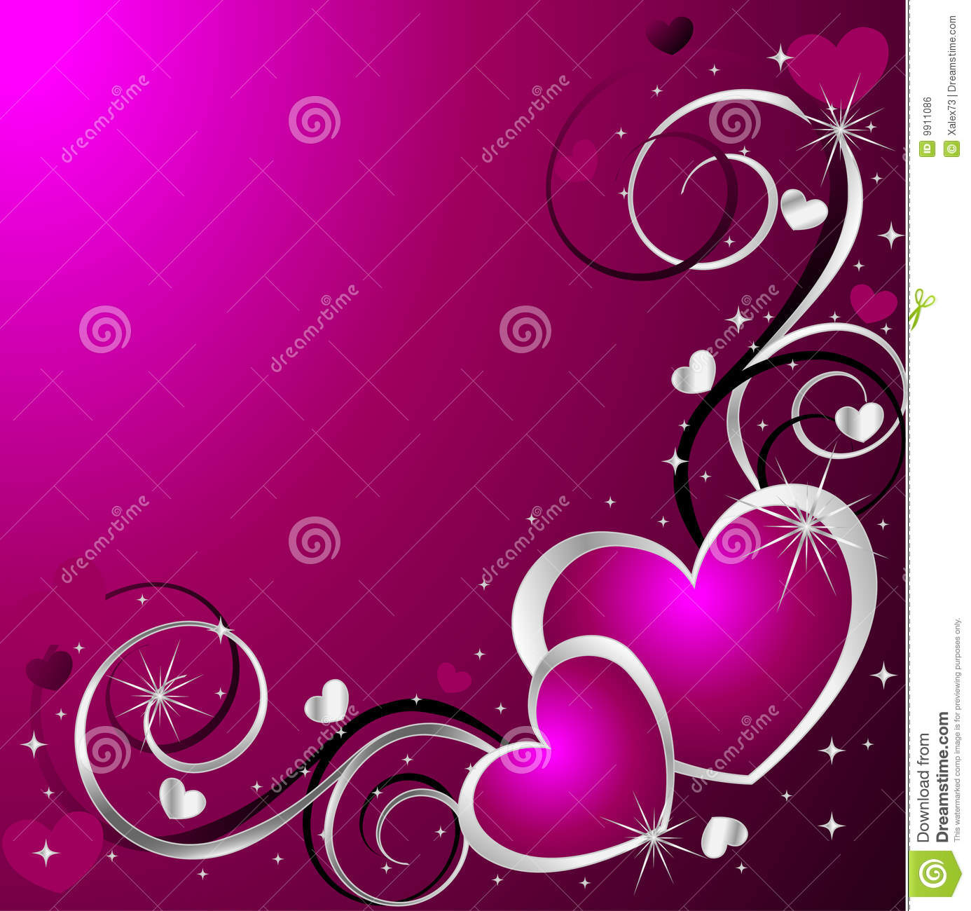 rapunzel hair styles background with hearts royalty free stock image image 5169