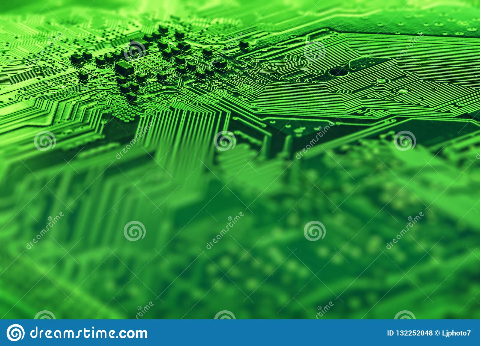 Background Image Texture Of Motherboard Digital Microchips Stock Green Computer Chip Circuit Board Technology Electronic Hardware Tech Science Information Engineering Component