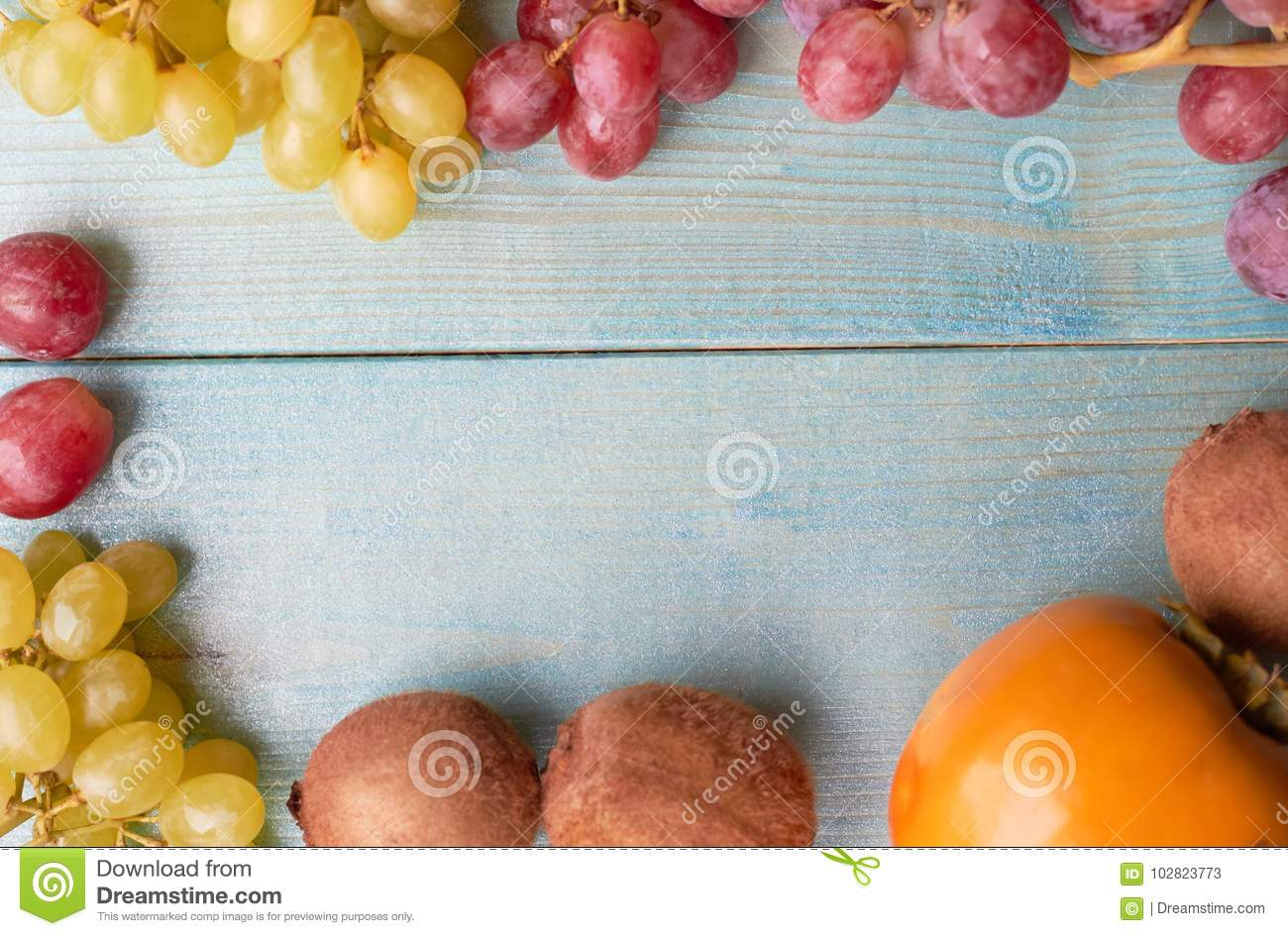Background of juicy fruits