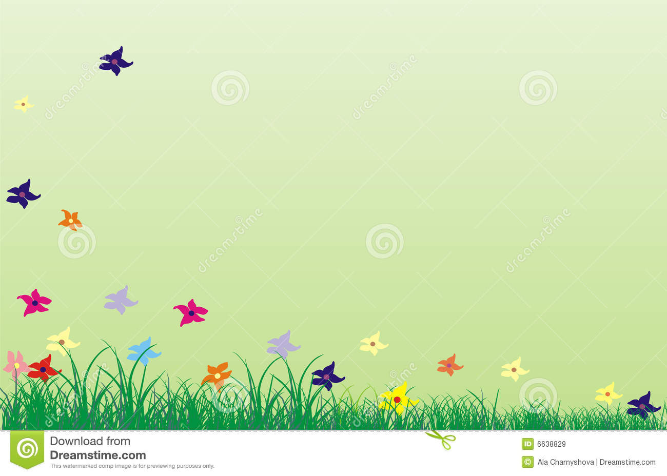 Background For June Royalty Free Stock Images - Image: 6638829