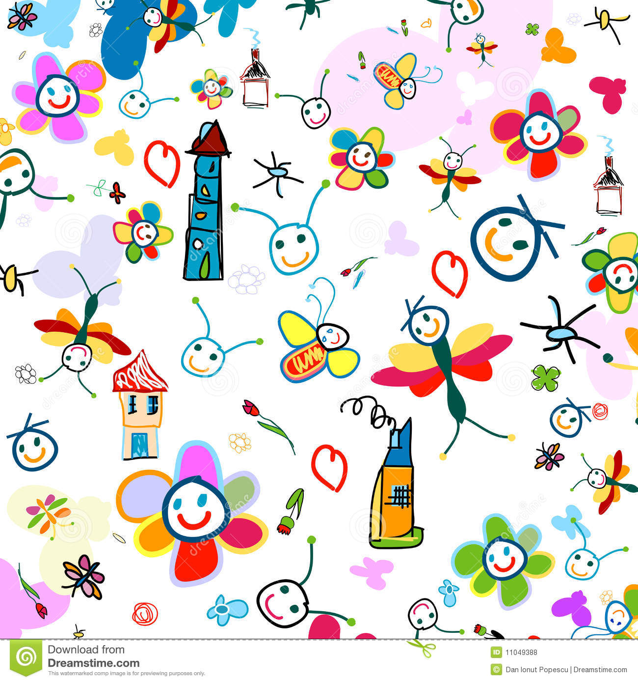 Background For Kids Royalty Free Stock Photos Image