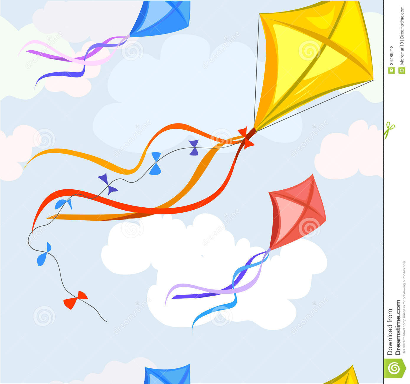 Kite Background Background with a kite
