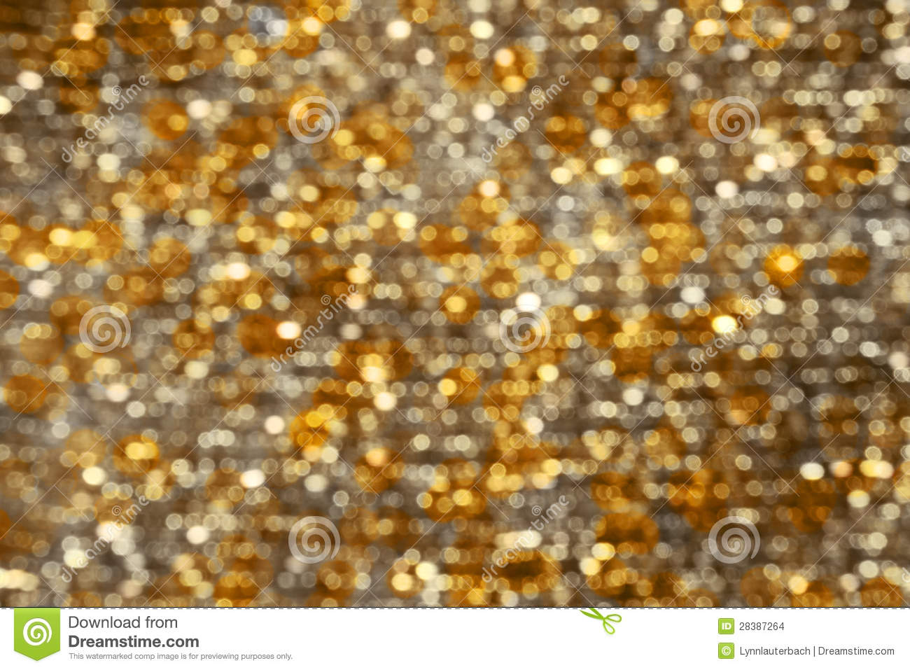 background lights bokeh abstract gold silver stock photo