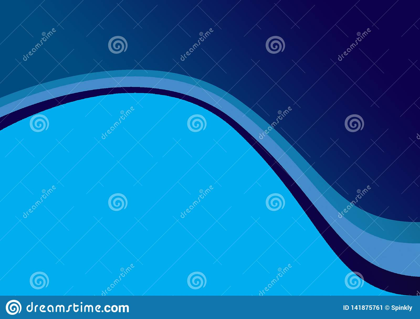 Background linear curvature background design