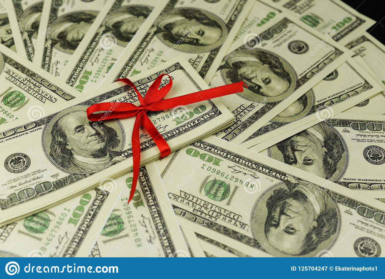 Background of a lot of banknotes of money cash