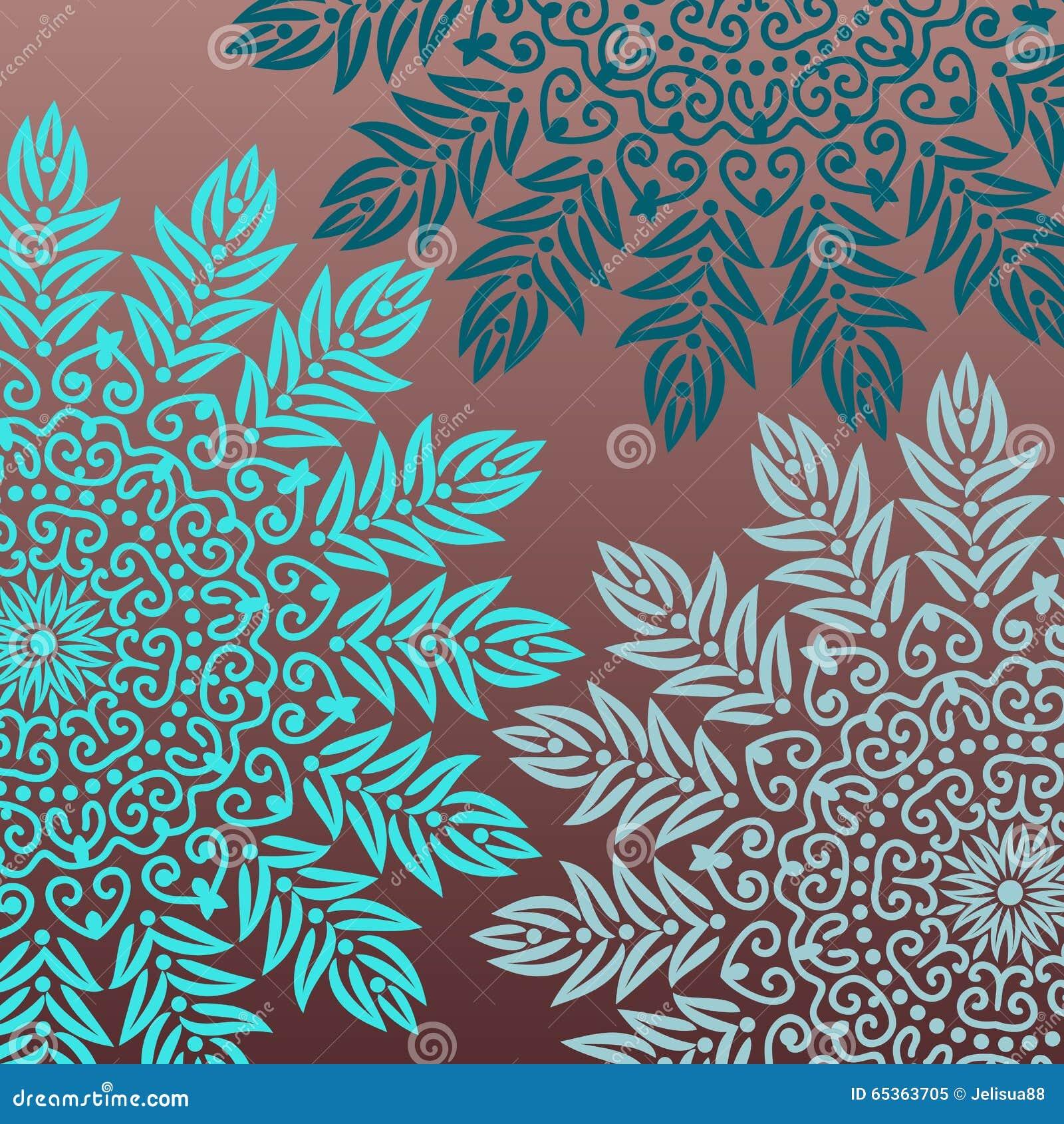 Background Mandala Stock Vector - Image: 65363705