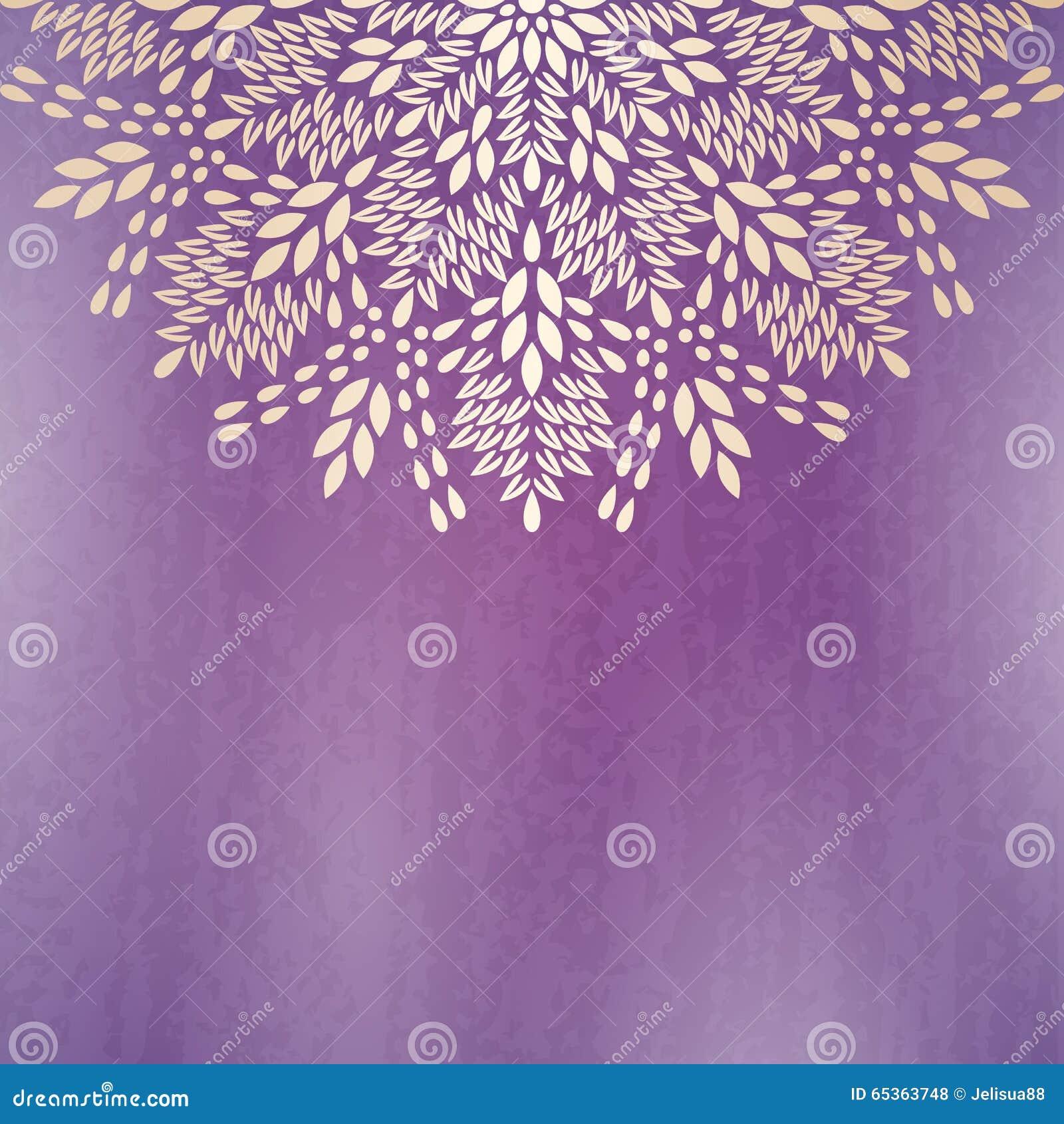 Background Mandala Stock Vector Image 65363748