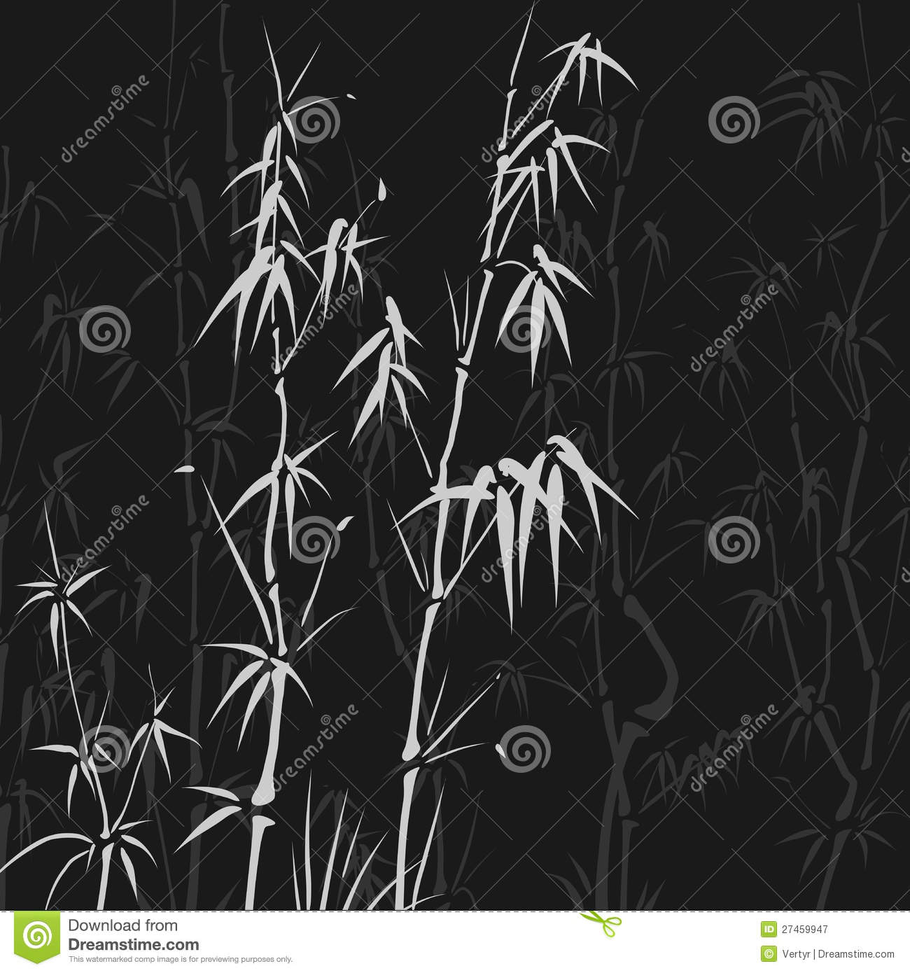 Background with many bamboo in asian style.