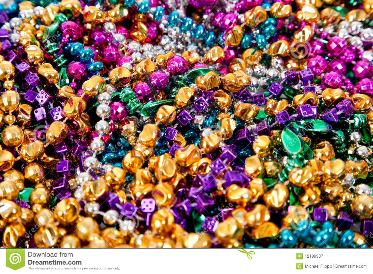 background of mardi gras beads stock image - image: 12189307, Powerpoint templates