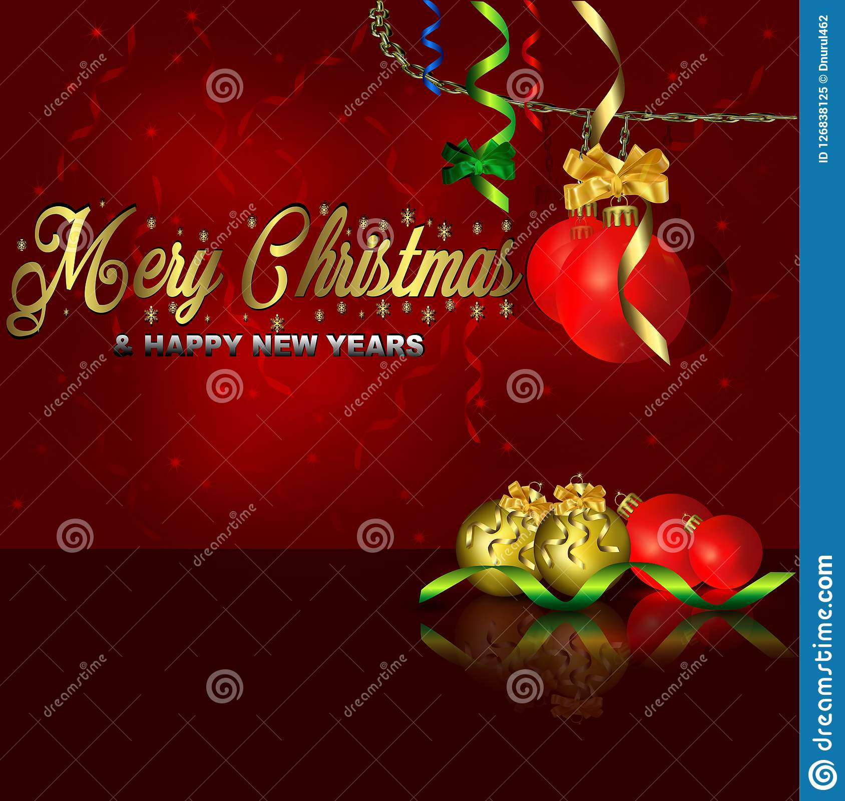 Mery Christmas.Background Mery Christmas Stock Illustration Illustration