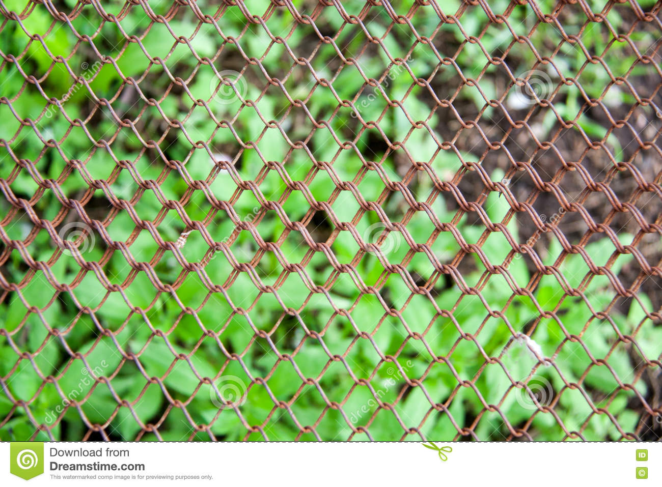 Metal wire fence protection chainlink background royalty