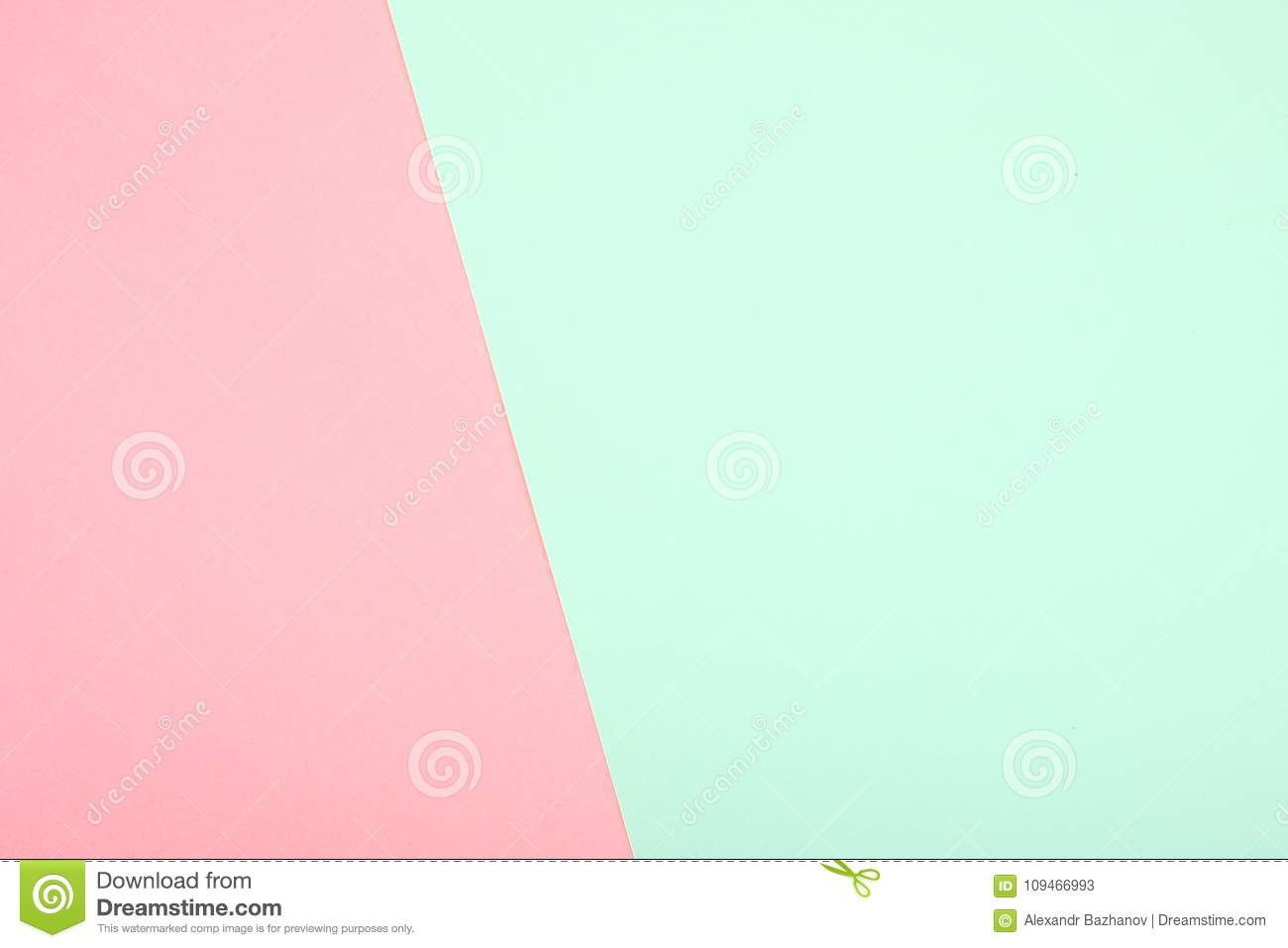 Mint and pink paper stock image. Image of design, nobody - 109466993
