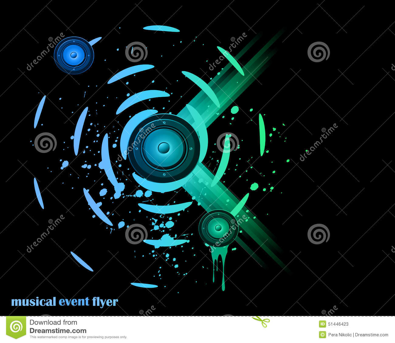 Poster design for technical events - Poster Design For Technical Events Royalty Free Vector
