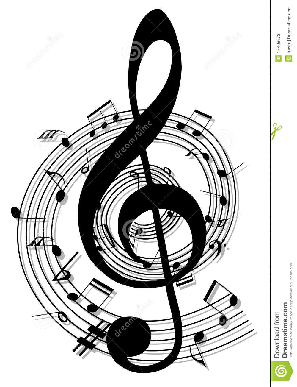 notes background tattoo vector designs musica cool illustration preview