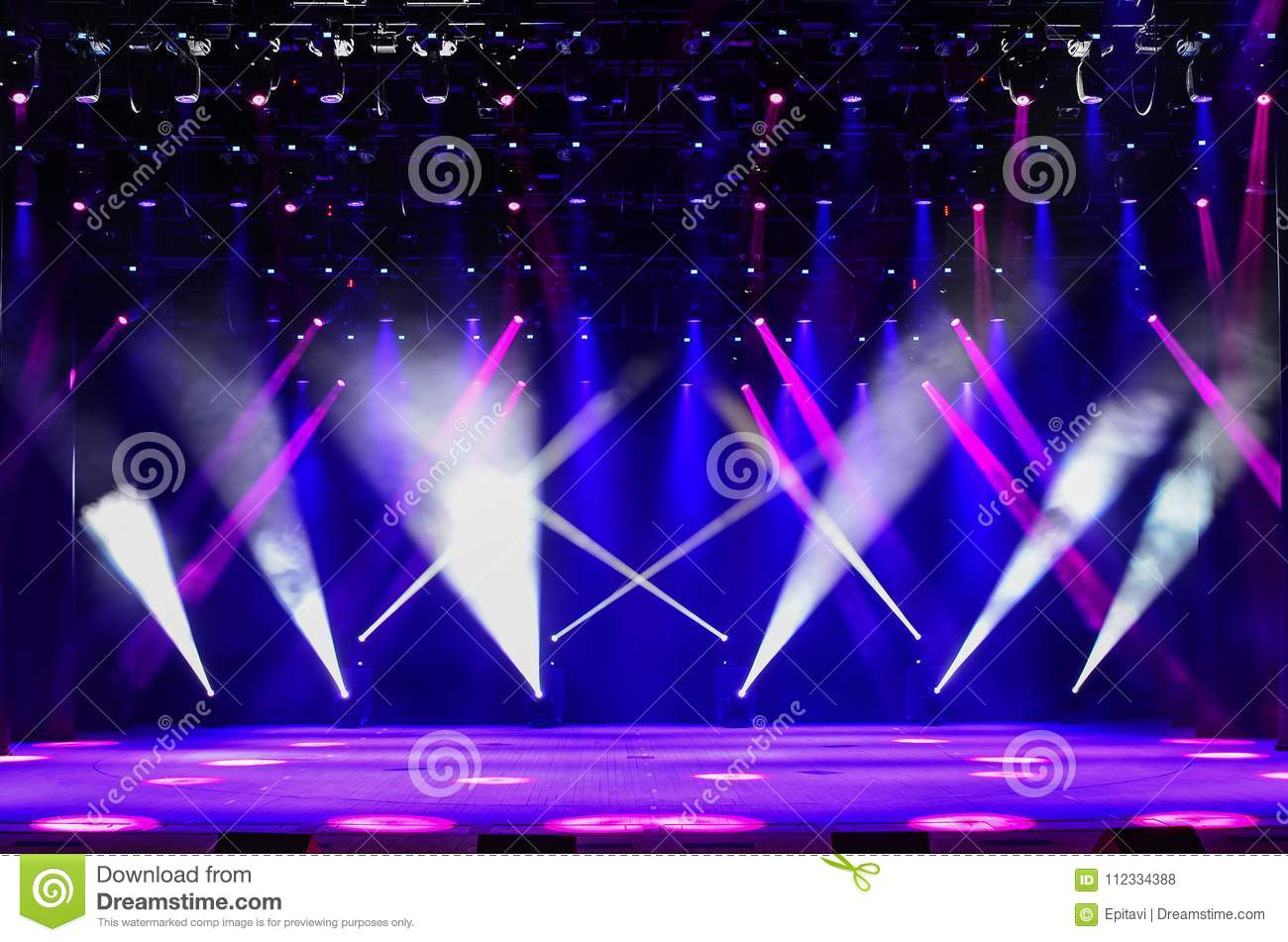 Background for music show stock photo  Image of glow - 112334388