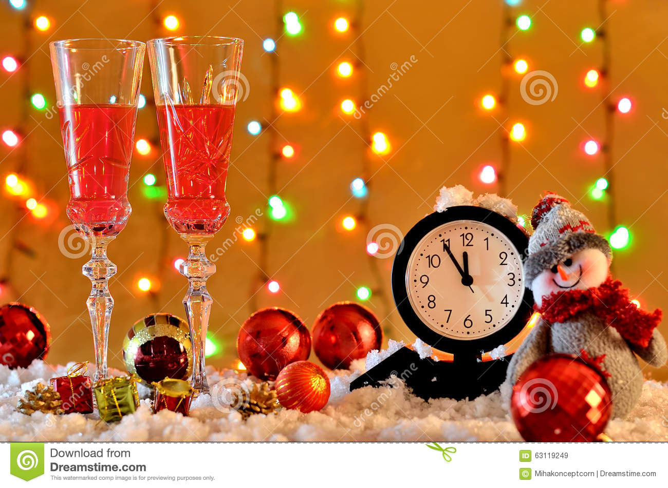 Background For New Years Greetings And Advertising Christmas D