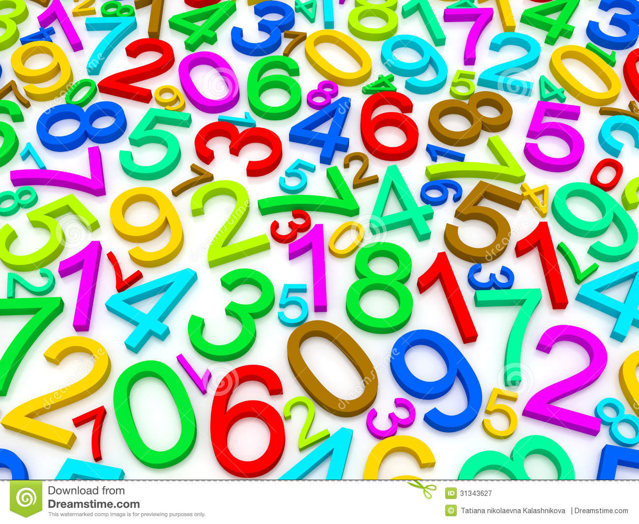 Background Of Numbers Royalty Free Stock Photography ...