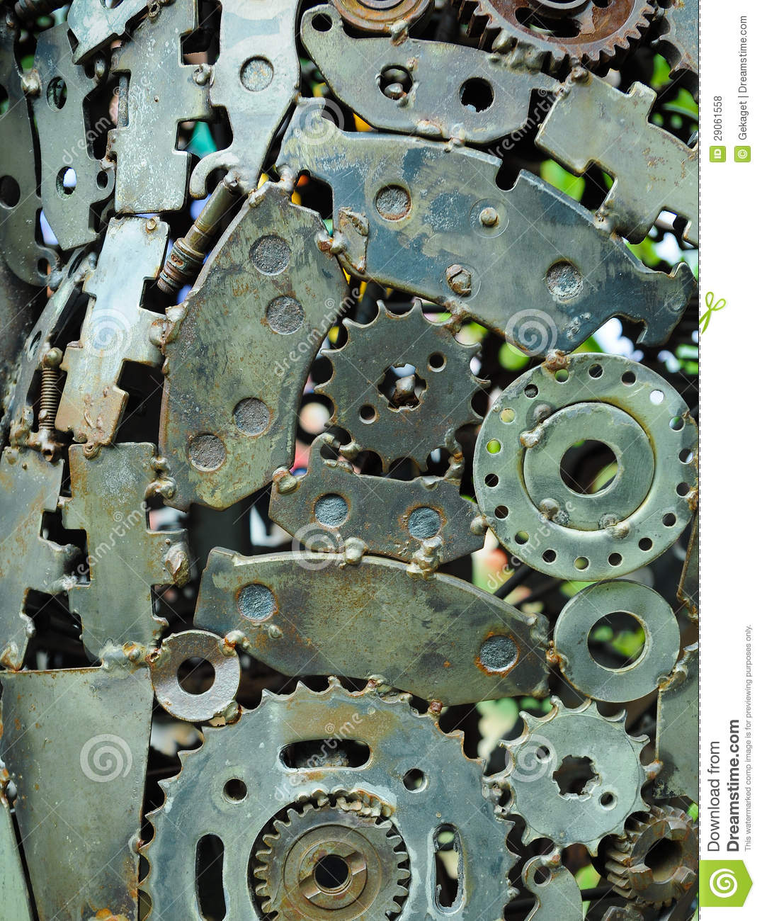 Hq Old Machinery Parts : Background of old machine parts stock photo image